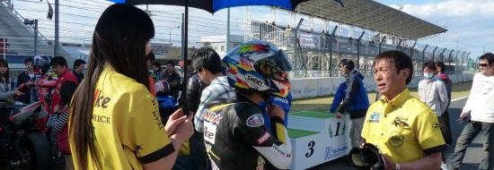 Post image of 【レースレポート】筑波ロードレース選手権 第1戦